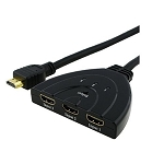1 TO 3 HDMI SPLITTER WITH TAIL