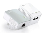 TP-LINK AV500 2-port Powerline Starter Kit, Up to 500Mbps (TL-PA4026 KIT)
