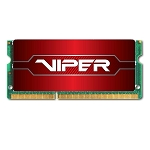 Patriot Memory Performance Viper DDR4 8GB SODIMM PC4-19200 (2400MHZ) PV48G240C5S Red