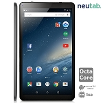 NeuTab 10.1 Inch Octa Core Android 5.1 Lollipop Tablet PC, 1GB RAM 16GB ROM, Bluetooth 4.0 Dual Camera Mini HDMI output, 1 Year US Warranty, FCC Certified