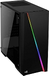 AeroCool Cylon Mini RGB microATX case, Black