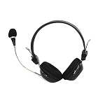 HEADSET ELITE WITH ADJUSTABLE MICROPHONE AND VOLUME CONTROL