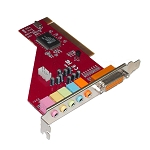 6 CHANNEL PCI SOUND CARD