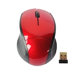2.4 GHz WIRELESS OPTICAL MOUSE RED, GREY OR BLUE