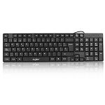 KEYBOARD USB IN ENGLISH IN BLACK