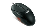 Genius Black 3 Button USB Mouse 400dpi, Model XSCROLL USB - Retail