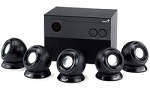 Genius 26W 5.1ch Speaker System Black, Model SW-5.1 1005 retail