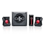 Genius 36W for Gaming 2.1ch 4pcs Speaker System, Model SW-G2.1 1250 Retail