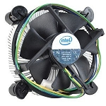 Intel Original LGA775 CPU Cooler Aluminum support 65W CPU, Rohs,p/n# E97375-001