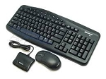 Microsoft Black 103 Normal Keys 10 Functioandard Optical Desktop 700 v2 - OEMn Keys USB Wireless St