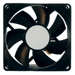 80MM PC COOLING FAN BLACK