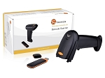TaoTronics 2.4G Wireless Cordless Handheld Barcode Bar Code Scanner Reader Kit - Black, 32-bit Decoder, Anti-interference, Mobile Moveable, Optical Laser,Short Range