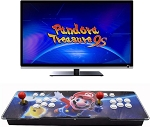 Pandora Treasure 9s Arcade Game Console - 3160 Retro Games Pre-Loaded, Search/Save/Hide/Delete Games, 1280x720P, 4 Players Online Game, 2 Player Game Controls