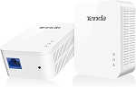 Tenda AV1000 1-Port Gigabit Powerline Adapter, Up to 1000Mbps (PH3),White