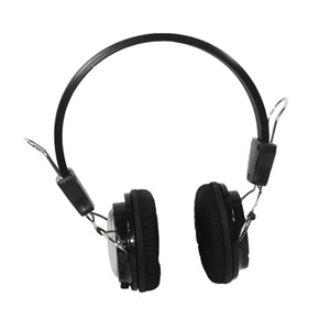 HEADSET DELUXE WITH MICROPHONE AND VOLUME CONTROL