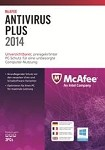 McAfee Antivirus PLUS 2014 1Year 1User - Flatpack US PKC OEM BXMAV1YRENG